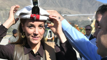 The Duchess of Cambridge in Chitral, Pakistan.