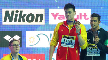 Mack Horton's rivalry with Sun Yang hasn't made him popular in China.