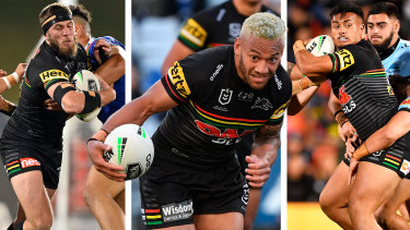 Panthers recruits Kurt Capewell, Api Koroisau and Zane Tetevano were all bought for their grand final experience.