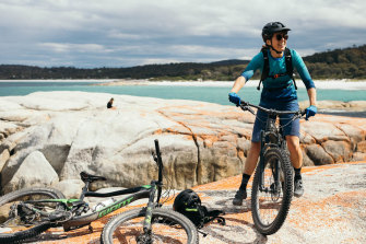 NSW travellers will be able to go biking in Tasmania from next Friday.