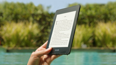 The new Kindle Paperwhite is rated for dunks in up to two metres of fresh water, for up to 60 minutes.