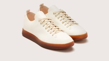 "Feit ""Low Semi Cordovan"" sneakers."