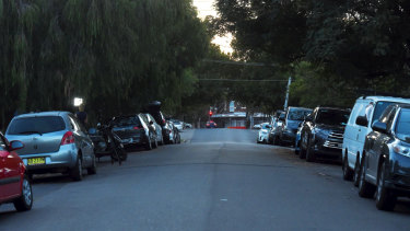 Strachan Lane in Kingsford, where the body of Preethi Reddy was found in a suitcase in her car.