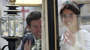 This is meant to be a family wedding': Princess Eugenie and Jack