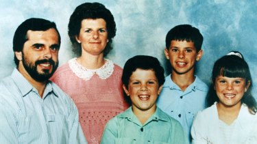 Shattered family: Wayne, Jennifer, Adrian, Matthew and Sarah de Gruchy.