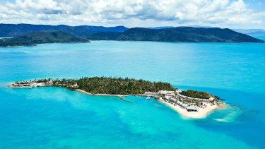 Daydream Island, a 30-minute ferry trip from Hamilton Island in the Whitsundays.