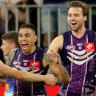 Walters helps Dockers steal a thrilling after-siren win over the Lions