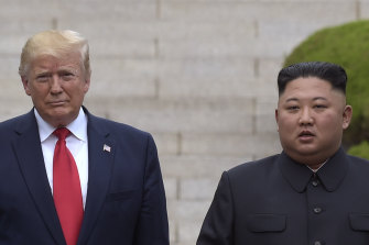 Relations between US President Donald Trump and North Korean dictator Kim Jong-un have turned frosty after promising dialogue in recent years.