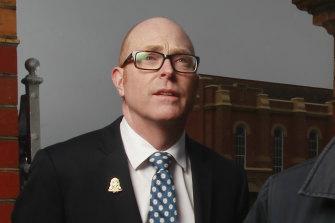 St Kevin's new principal, John Crowley.