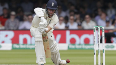 Jack Leach scored 92 as a nightwatchman. against Ireland