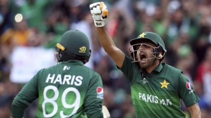 Azam century revives Pakistan hopes at Cricket World Cup