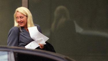 Nicola Gobbo outside the Supreme Court in 2004.