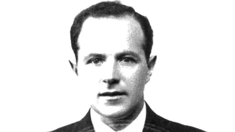 Jakiw Palij in a 1957 photo.