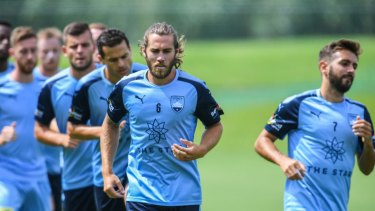 End of an era: Midfielder Josh Brillante could be on his way out of Sydney FC.