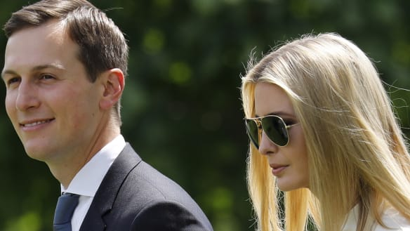 Unpaid advisers Ivanka Trump and Jared Kushner made $US81 million last year