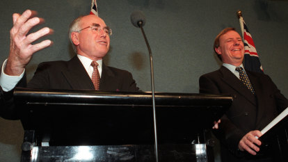From the Archives, 2000: Howard bets future on GST
