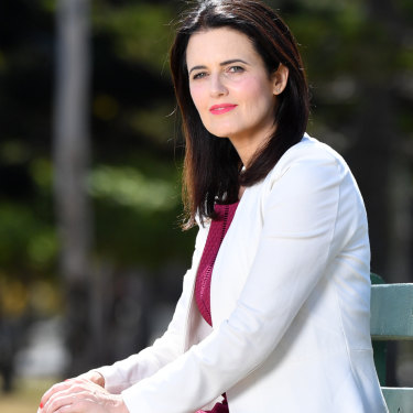Ali France hopes to steal the marginal Brisbane seat off the Liberal Party.