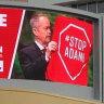 'Worse than GetUp': Coalition slammed over 'misleading' Adani billboard
