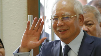 Former Malaysian leader Najib Razak faces trial for corruption