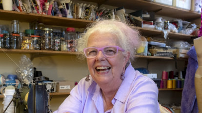 'I'm not an out-there sort of person': legendary costumier celebrates a milestone