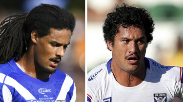 Canterbury stars Jayden Okunbor and Corey Harawira-Naera have been suspended indefinitely after taking two high school girls back to their hotel.