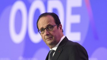 Francois Hollande acknowledged that he underwent prostate surgery in 2011.