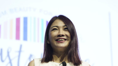 Sabrina Tan invested around $1 million of her own money but Skin Inc did not take off for seven years.