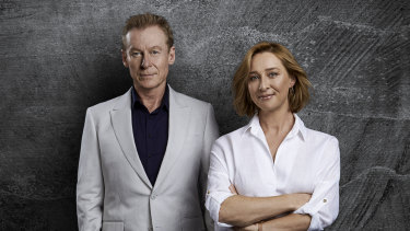 Richard Roxburgh and Asher Keddie play the parents of a teenage boy accused of uploading pornographic images of a classmate to a website without her knowledge or permission.
