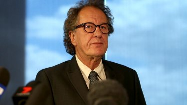 Geoffrey Rush is suing publisher Nationwide News for defamation.