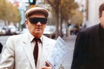 Gerald Ridsdale outside court in Warrnambool in 1993.