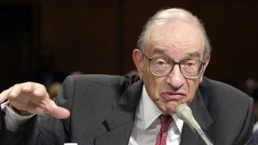 Former Federal Reserve chairman Alan Greenspan, either one of the world's greatest central bankers, or the man who implemented an economic ideology that created the preconditions for the Global Financial Crisis.