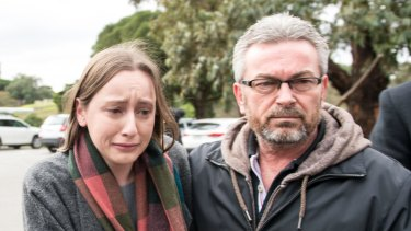 Borce Ristevski and daughter Sarah appealed for information into Karen\'s disappearance.