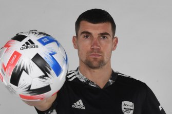 Mat Ryan will play on loan at Arsenal for the rest of the EPL season.