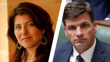 Naomi Wolf and Angus Taylor both studied at Oxford, but Wolf says not at the same time, as Taylor asserted in his first speech to Parliament.