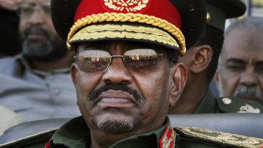 Ousted: former Sudanese president Omar al-Bashir.