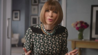 Teaching leadership ... Vogue editor-in-chief Anna Wintour.