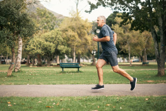 People in the least-active group, who rarely walked around or formally exercised, were more than twice as likely to have heart disease now as the most-active men and women.