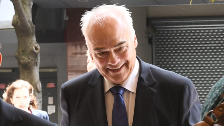 Peter Gregg at the Downing Centre Court in Sydney earlier this year.
