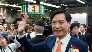 Xiaomi founder and chairman Lei Jun.