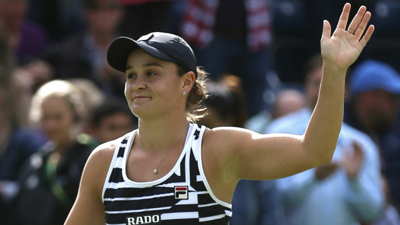 Ashleigh Barty claims world No.1 ranking with win in Birmingham