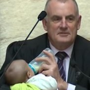 The NZ Speaker babysits an MP's boy and the world goes crazy