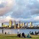 South Perth StrEATs is a popular foreshore event over the summer months.
