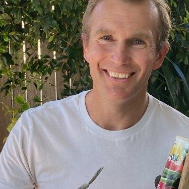 Rob Stokes is a keen gardener