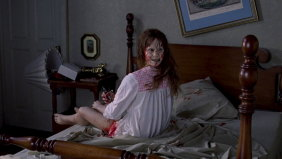 Headspinning: Linda Blair in The Exorcist.