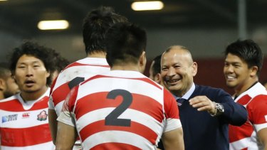 Smart operator: Eddie Jones was a huge factor in the development of the Japanese game.