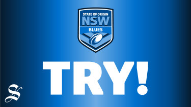 Blues try