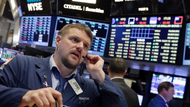 Wall Street fell sharply on Friday as recession fears gathered steam.