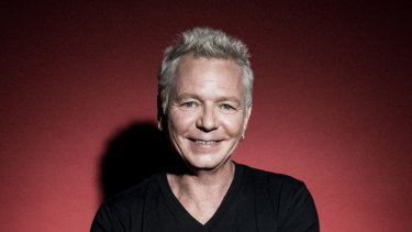 Iva Davies performed with Icehouse at the St Kilda Festival.