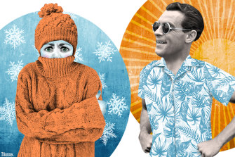 It's true: Women feel the cold more than men.