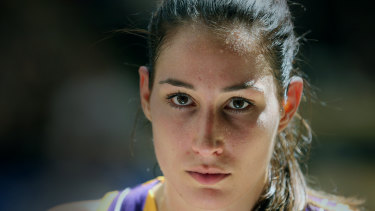 Rebecca Allen is looking to step up for the Opals at the FIBA Women's World Cup later this month.